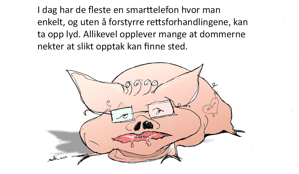 Ulf Leirstein vil ha smarttelefon i retten | Kristin B. Bruun