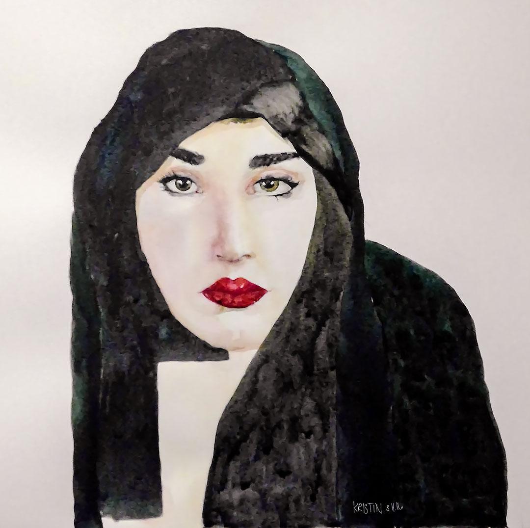 Hijab og pupp