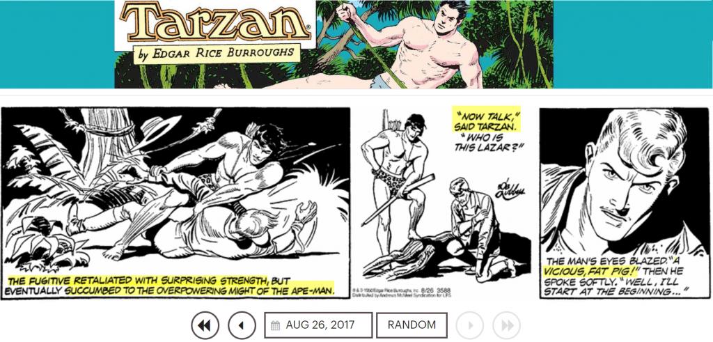 Hva hadde Tarzan til felles med Knausgård og andre bygutter
