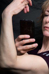 Kristin Bruuns biceps.