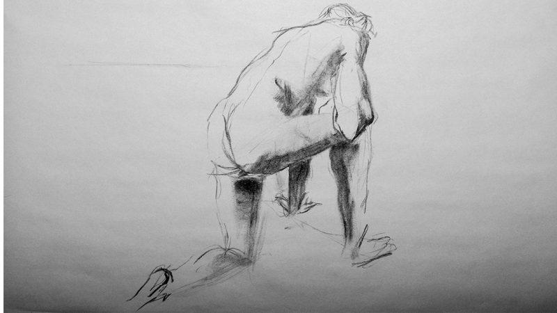 Croquis - tegning Kristin B. Bruun