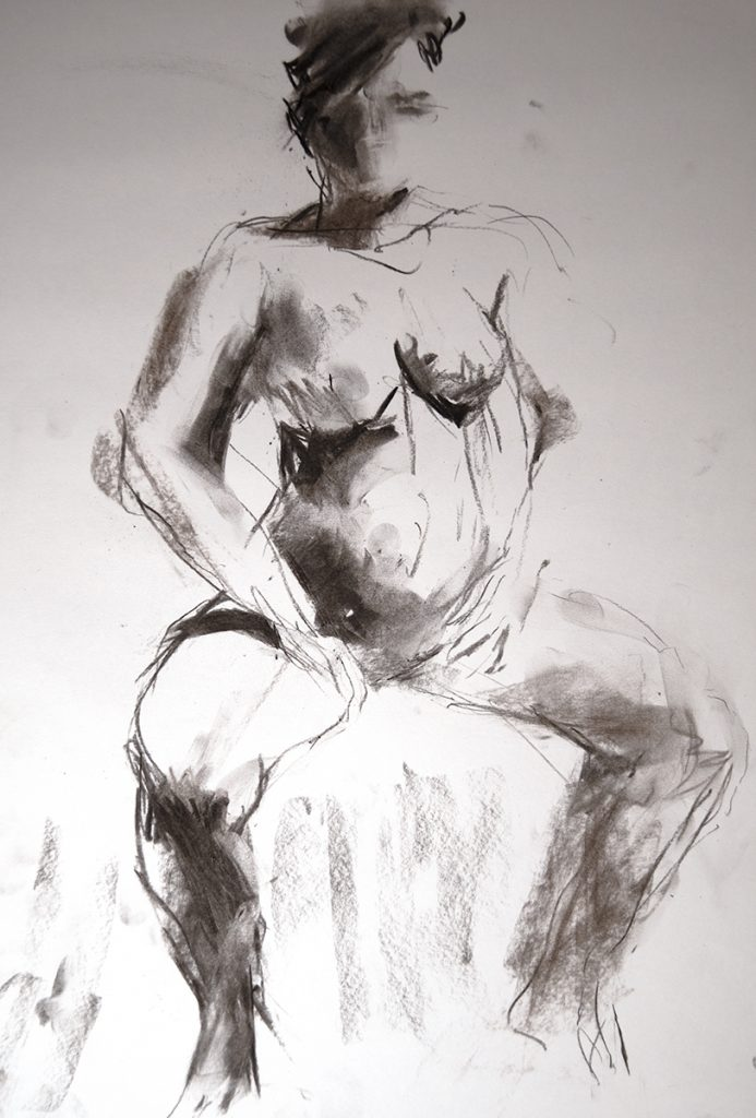 Croquis - tegning: Kristin B. Bruun